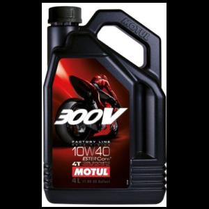 MOTUL 300V FACTORY LINE 10W-40 4L