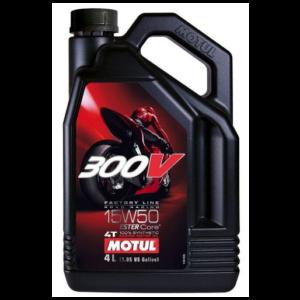 MOTUL 300V FACTORY LINE 15W-50 4L
