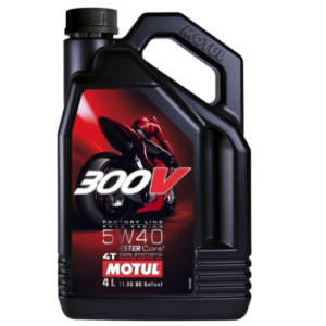 MOTUL 300V 5W40 4T FACTORY LINE 4L